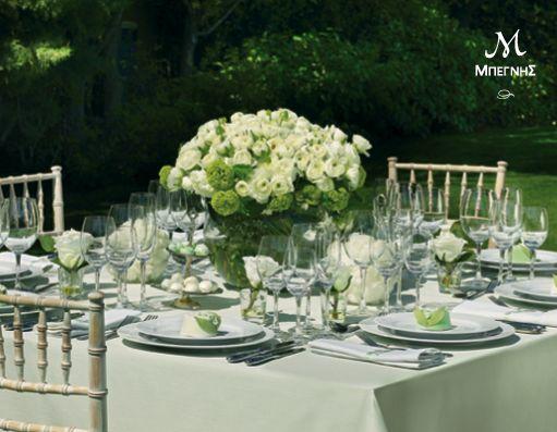 Στην πιο όμορφη μέρα της ζωής σας, απολαύστε τη δεξίωσή σας και τους καλεσμένους σας χωρίς κανένα άγχος, γιατί η Μπεγνής θα φροντίσει να είναι όλα απλά... τέλεια! #BegnisCatering #Catering #begnisclassics #weddingtable #taste #wedding