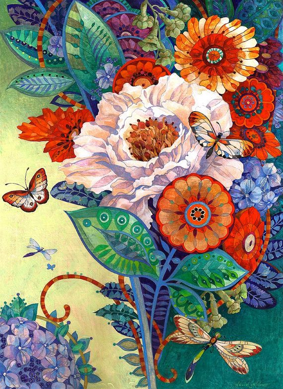 the mixed bouquet by david galchutt on etsy