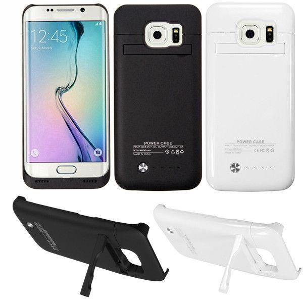 4200mAh External Backup Battery Power Bank Case For Samsung Galaxy S6 Edge