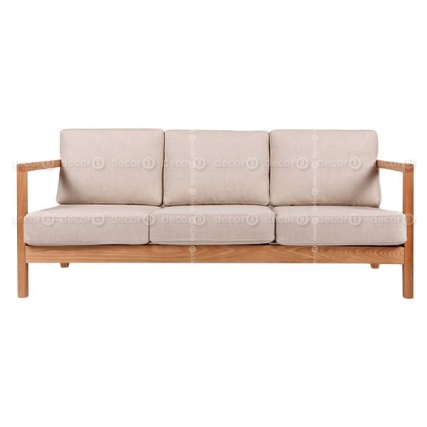 Decor8 Modern Furniture Hong Kong Modern Living Room Furniture Hathaway Solid Wood Sofa 3 Seater Furniture Sofa Set Living Room Furniture Sofas Oak Sofa