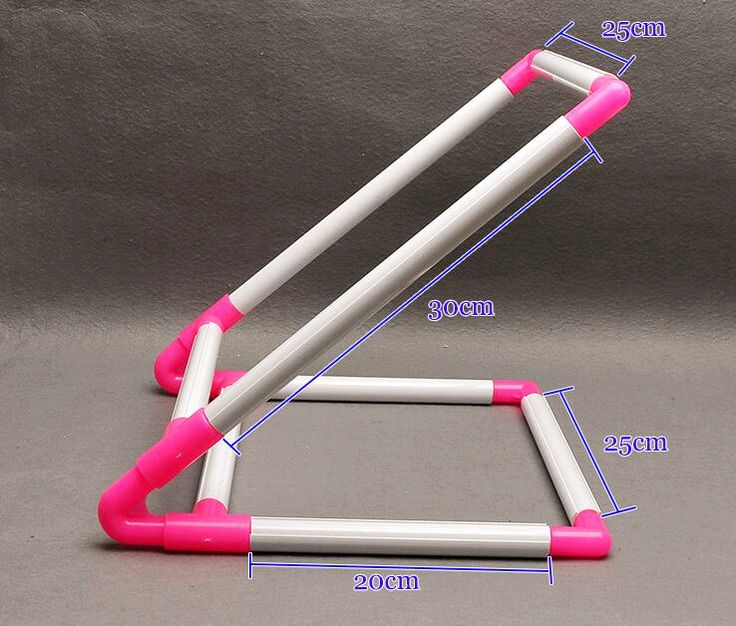 embroidery frame stand size 20cm25cm30cm pvc embroidery cross stitch tool