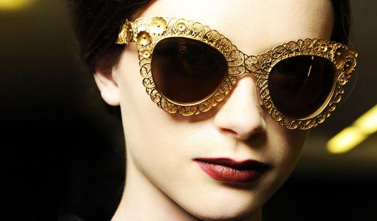 Dolce & Gabbana Fall Winter 2014: The Sunglasses