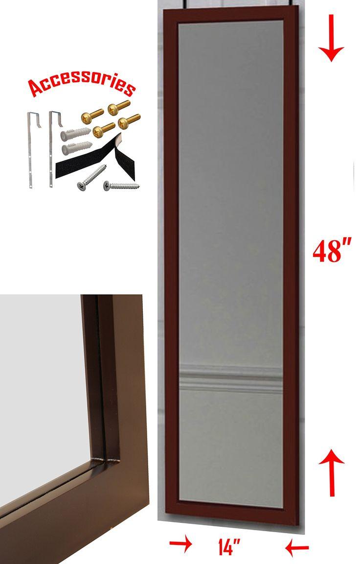 Over The Door 3 Tier Bathroom Towel Bar Rack Chrome W: 1000+ Ideas About Over The Door Mirror On Pinterest