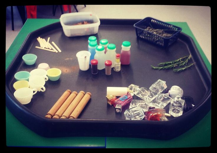 Potion and perfume making today in Reception ! Always a hit with both boys and…