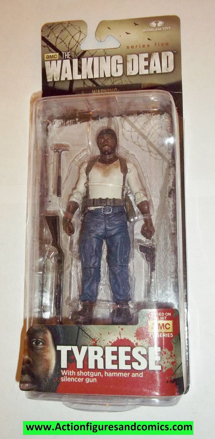 The Walking Dead TYREESE series 5 2014 mcfarlane toys moc mip