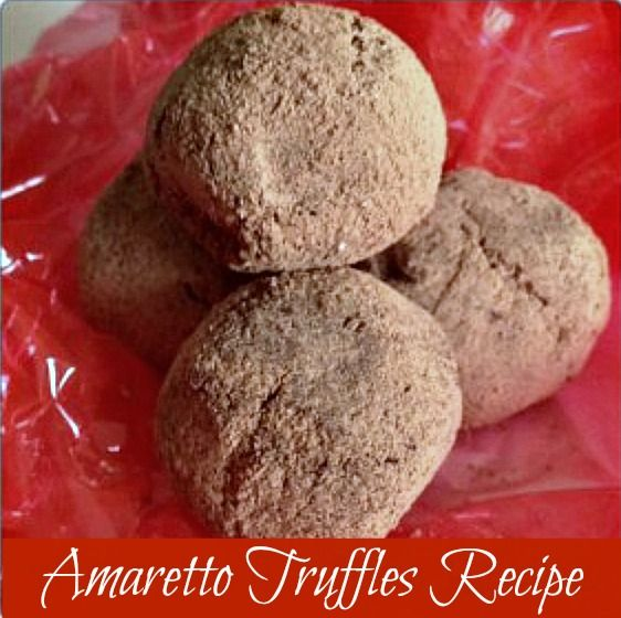This recipe will show you how to make truffles (it's so easy!), and these Amaretto Truffles make a perfect gift for neighbors, teachers, and friends.