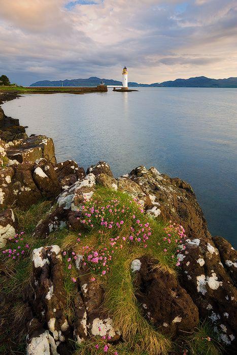 Rubha nan Gall lighthouse, Isle of Mull, Scotland