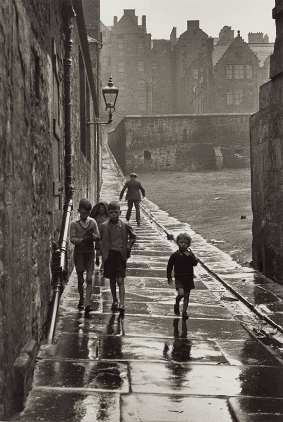 Gisèle Freund, Newcastle-upon-Tyne, England, 1935.