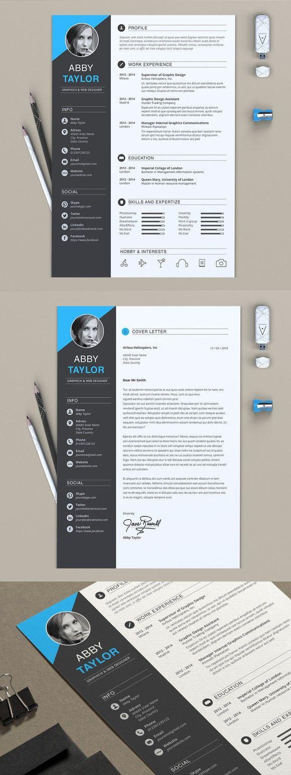 Word Resume 23 best Creative CVu0027s u0026