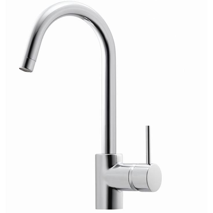 Laundry Basin Bunnings : ... Star 7.5L/Minute Minimalist Goose Neck Sink Mixer - Bunnings Warehouse