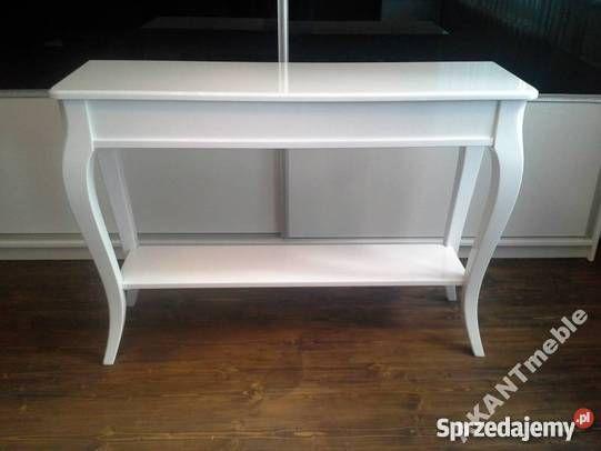 Konsola Classic z półką , meble, wnętrze, stylowe, glamour, wystrój wnętrz, dom,    Wymiary: 100x34 h76 cm,