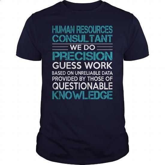 Awesome Tee For Human Resources Consultant - #tee times #blank t shirt. MORE…