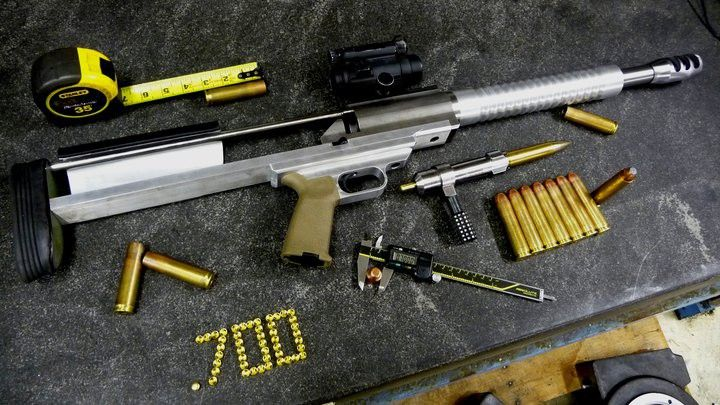 The .700 WTF : For Hunting Dinosaurs... When the .338LM and .50 just won't stop it...
