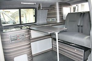 Fitted Campervan Conversion VW T5 ,T4, Renault Trafic, Mercedes Vito | eBay