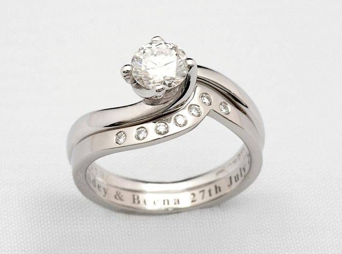 Wedding Ring Inscriptions Wedding Ring Engraving On Pinterest Engraved Rings Matching Wedding