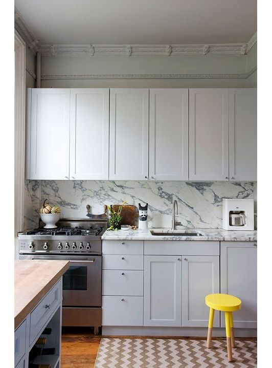 76 best kitchens images on pinterest hexagon tiles home for Kitchen cabinets 08234