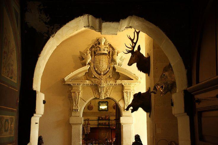 Entrance Hall, #Château de #Brissac, Brissac-Quincé, France   by Instant-Shots
