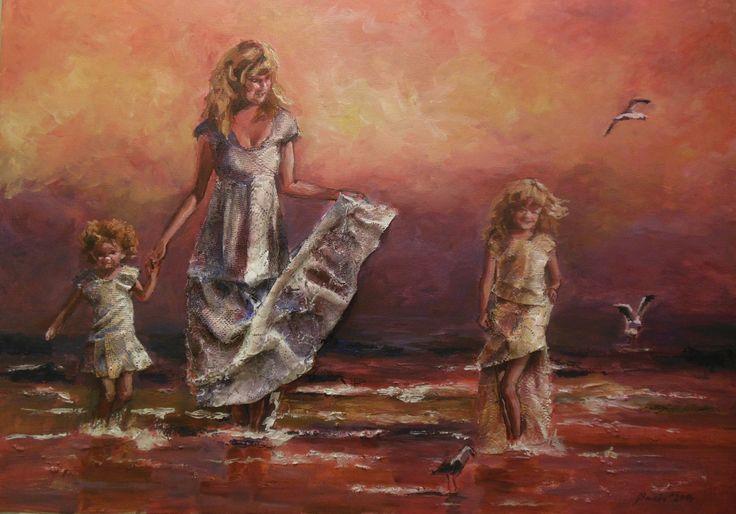 Karolína Borecká – obrazy, loutky