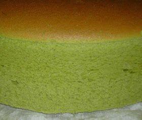 Blessed Homemaker: Matcha Japanese Cheesecake