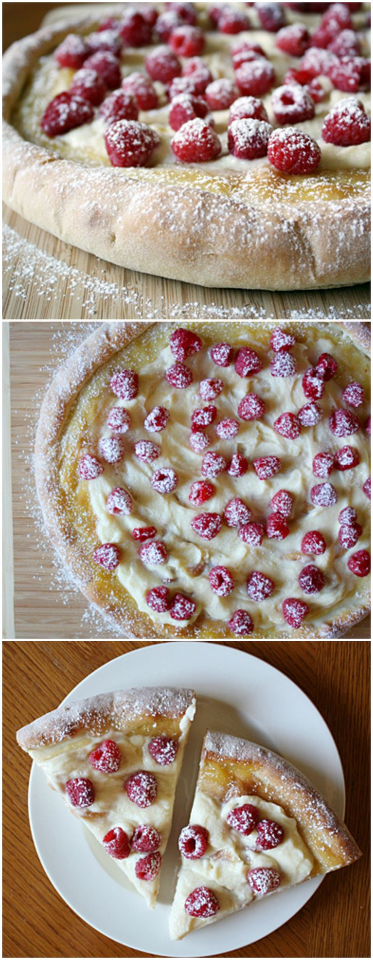 Raspberry Mascarpone Pizza