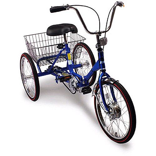 20 Quot Trifecta Adult 3 Speed Folding Tricycle Traditional