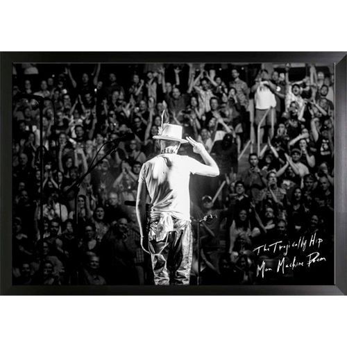 The Tragically Hip Framed 20x29 Canvas Gord Downie Salute