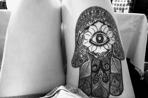 tatuaje la mano de fatima - Buscar con Google