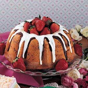 White Chocolate Pound Cake