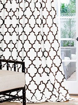 Curtains Ideas black and white patterned curtains : 10+ images about bedroom ideas on Pinterest | Window treatments ...