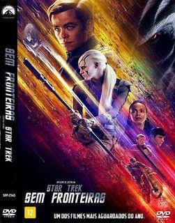 Tudo Capas Gtba: Star Trek - Sem Fronteiras - Capa Filme DVD