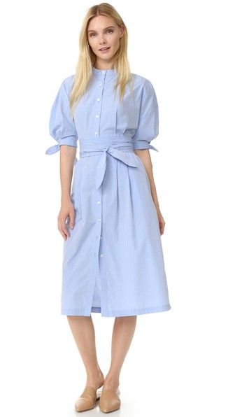 Sea Платье-рубашка с завязками