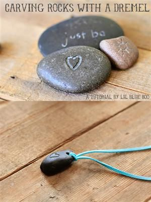 How to: DIY Carved Rock Art