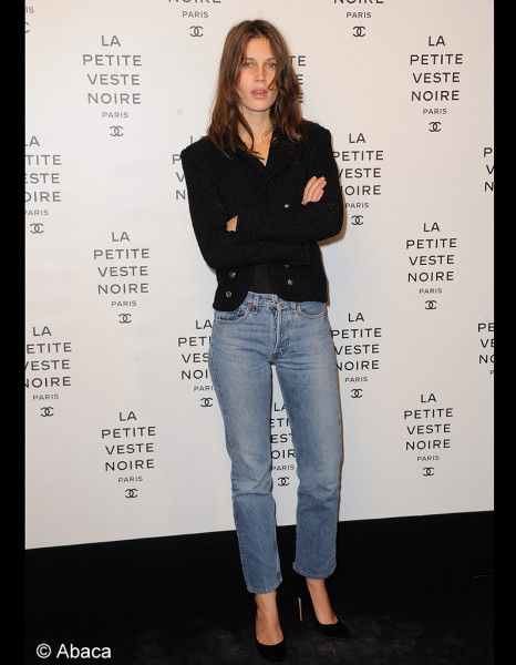 perfect jeans Marine-Vacth #redunhighrise