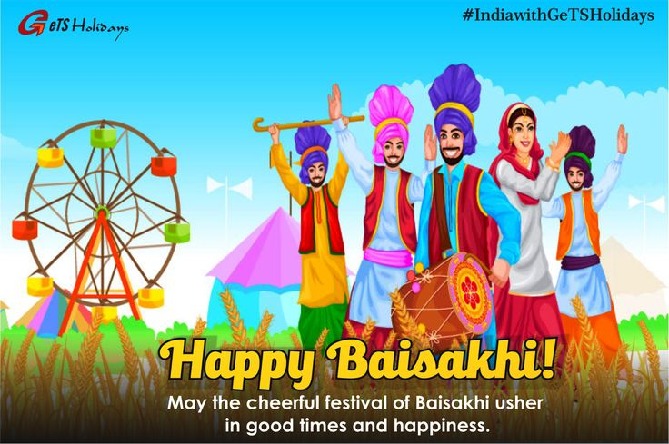 Celebrated amid much fanfare and merrymaking, #Baisakhi is the spring harvest festival in #Punjab and marks the #Sikh New Year. It is celebrated every year usually on the 13th of April.