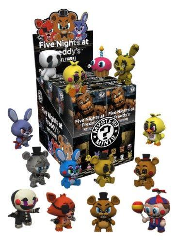 "Funko FIVE NIGHT AT FREDDY/'S Series #1 FNAF 2/"" Figures 4 Pack"