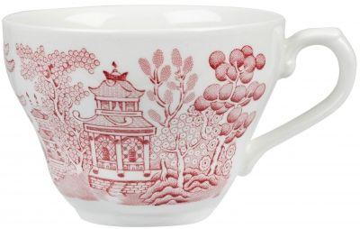Vintage Prints Georgian Cranberry Willow Teacup