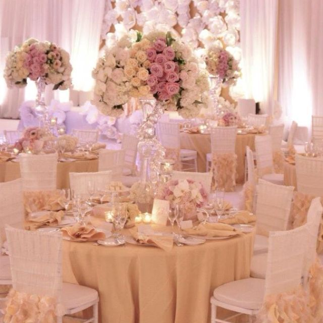 Glamorous Gold And Ivory Wedding Theme: 153 Best Images About Blush, Dusty Rose, Peach, Cream And