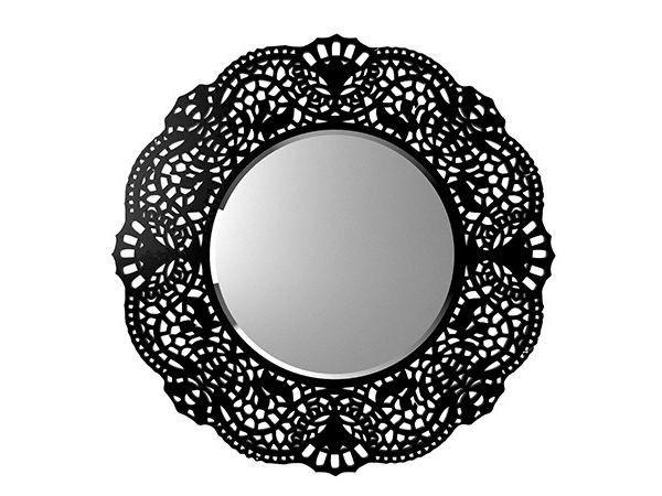 Espejo redondo de estilo moderno de pared con marco for Espejo redondo con marco
