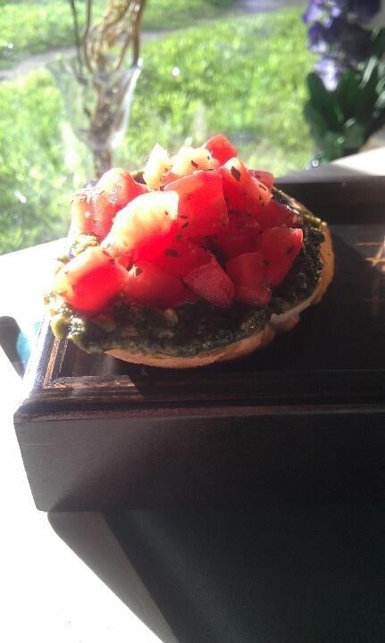 Brusketta! Very-very tasty!!!