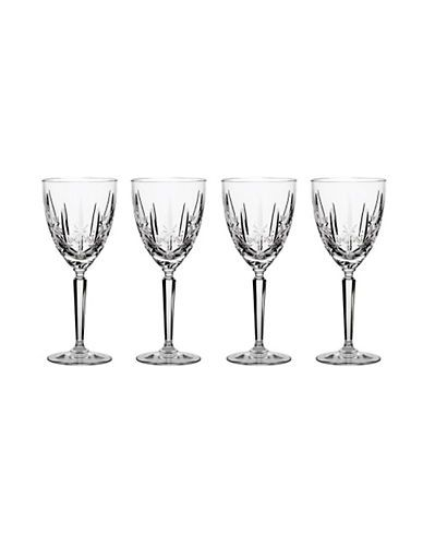 WATERFORD WEDGWOODMarquis By Waterford Sparkle Oversized Goblet Set Of 4