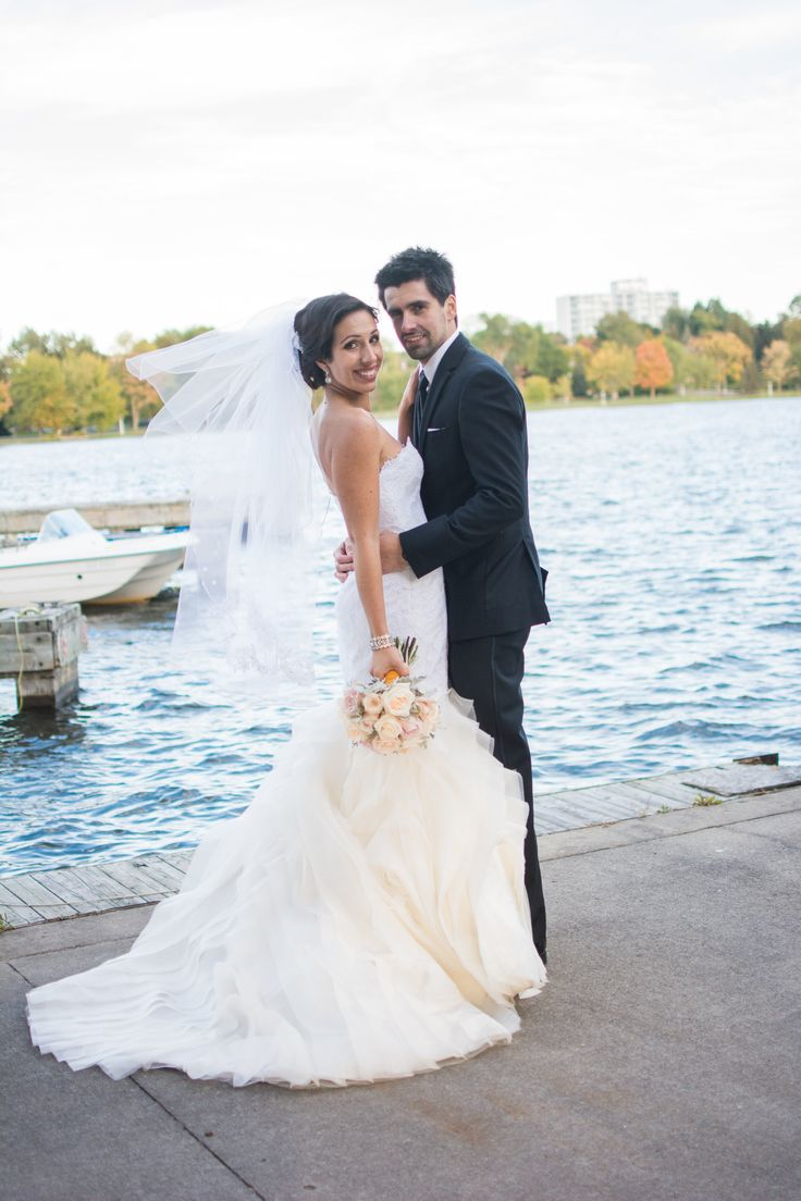 Wedding - Couple Photos - Melissa Gentile Couture - Champs Elysees Gown in Ivory