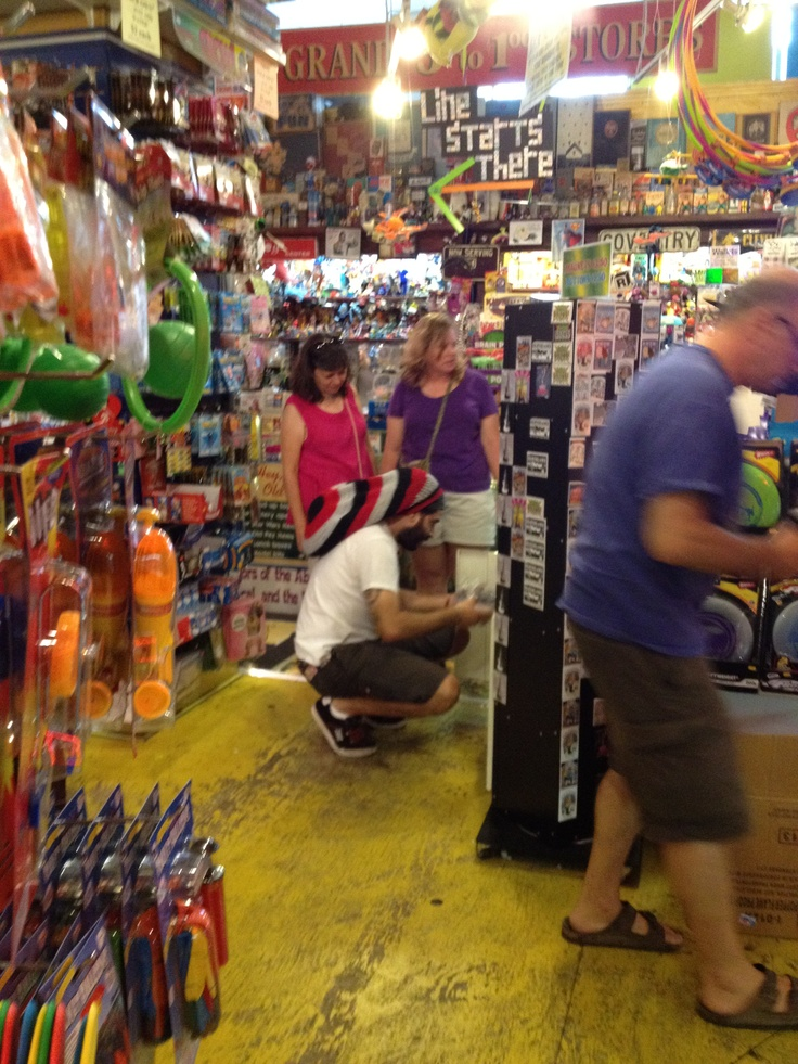 Big Fun store on Coventry Road in Cleveland Heights OH. Visual/fun overload