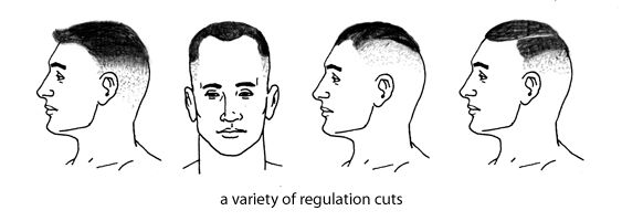 18 Best Military Regulation Haircuts Images On Pinterest