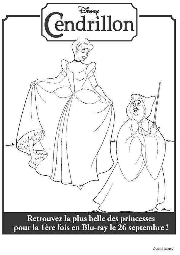 108 best Coloriage de princesses images on Pinterest | Coloriage de ...