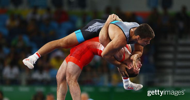 Grappling with strength - Getty Images