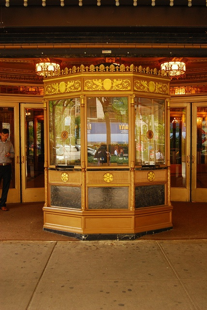 Beacon Theater Ticket Booth, via Flickr.