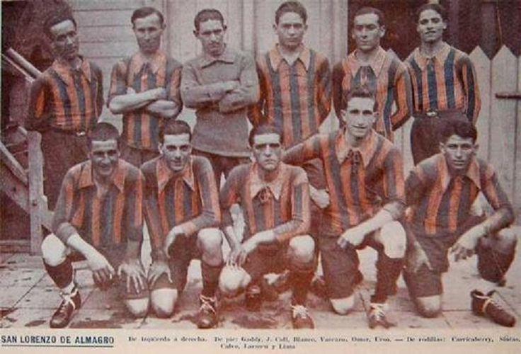 Los Cuervos del CLUB SAN LORENZO DE ALMAGRO, 1908
