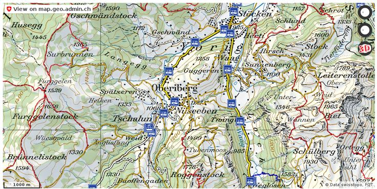 Oberiberg SZ Wanderwege Karte trail http://ift.tt/2x3oIJ4 #maps #GeoSpatial