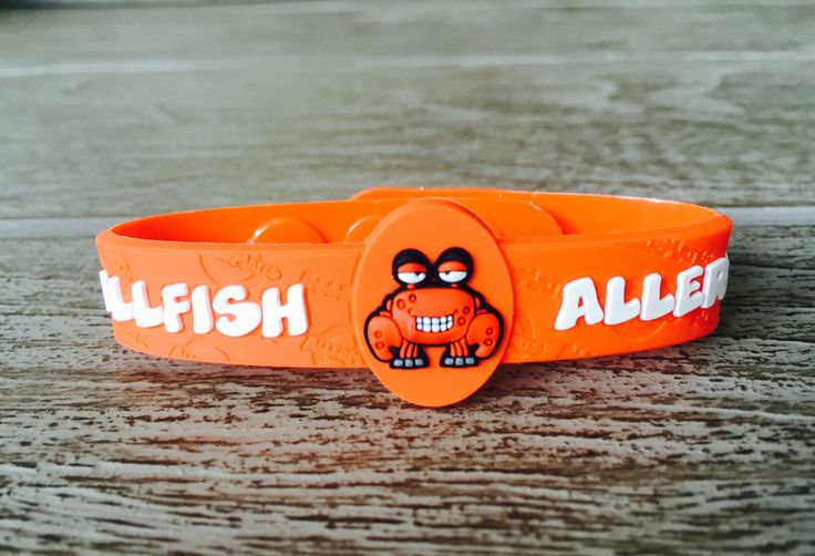 Shellfish Allergy Bracelet