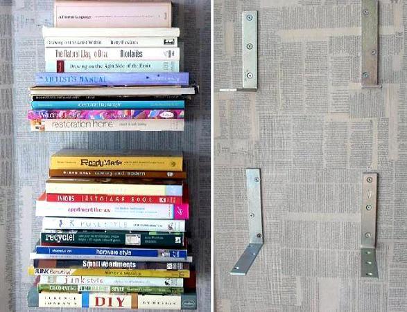 dcoracao.com - blog de decoração: ESTANTES FLUTUANTES - OUTRO JEITO